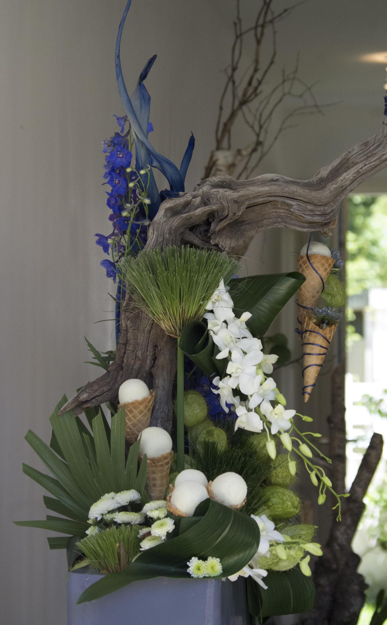Design Floral : Sculpture et piquage