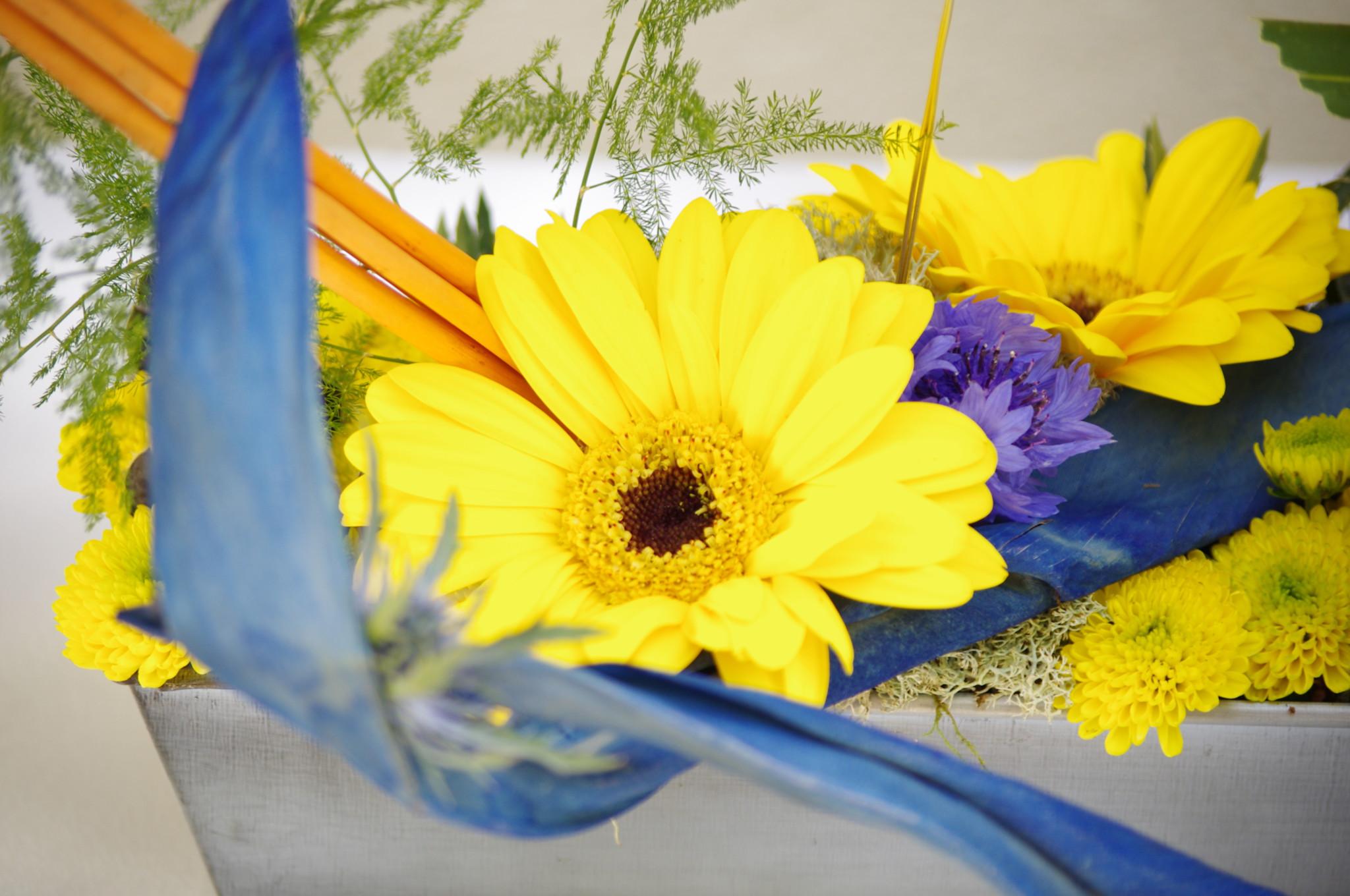 Design Floral : Sculpture à thème