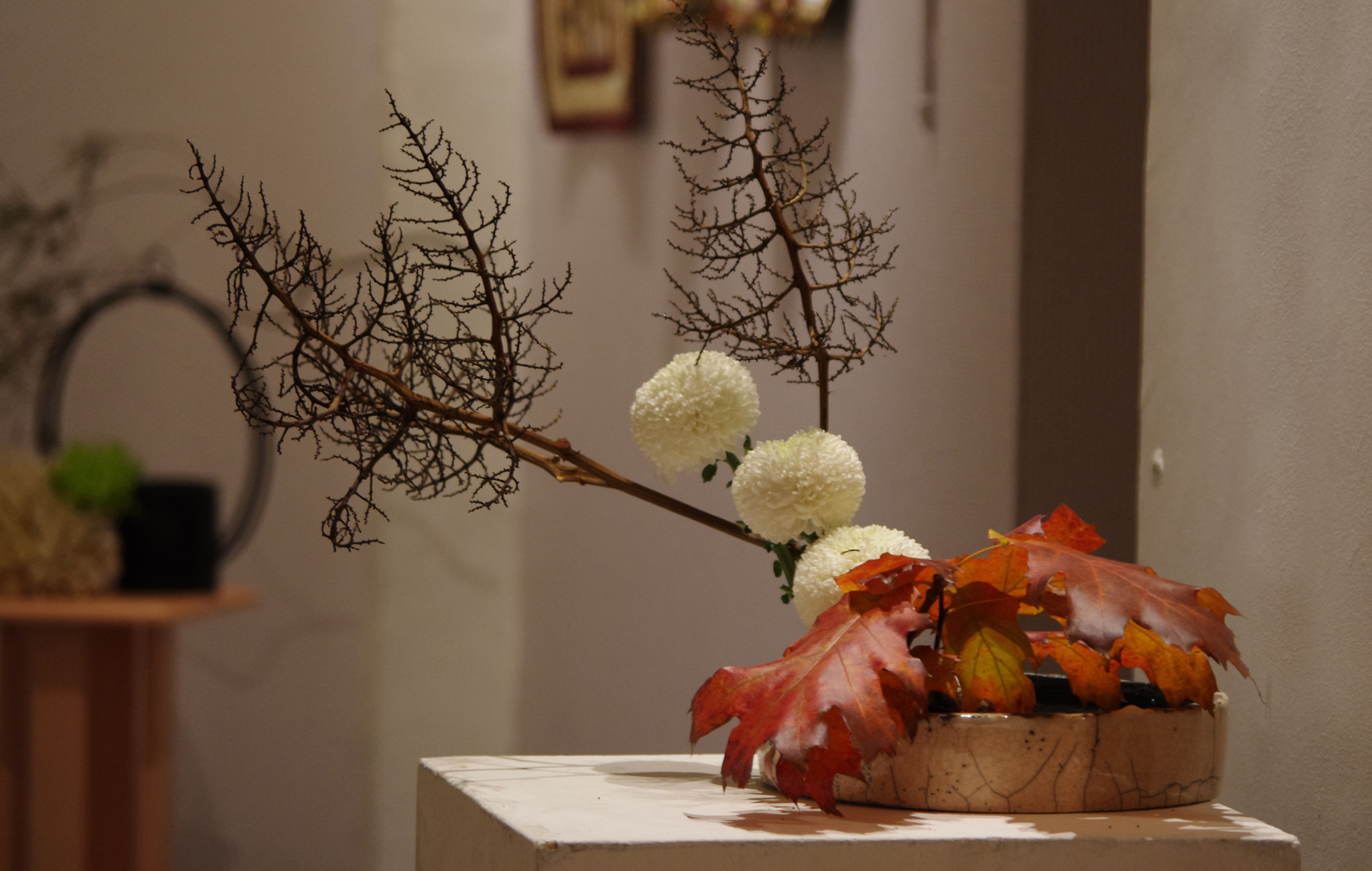 Design Floral : Ikébana style libre