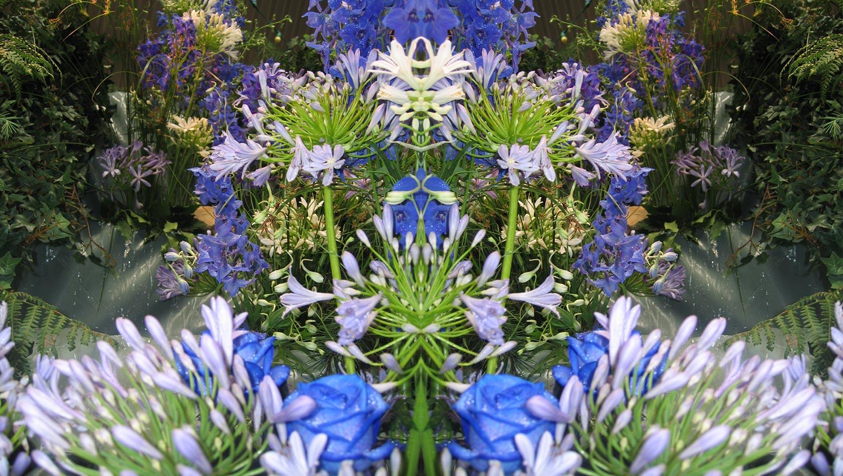 Cascade florale
